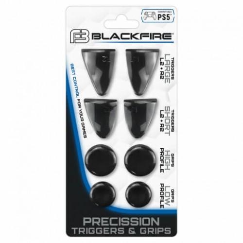 PACK PRECISSION TRIGGERS & GRIPS BLACKFIRE® PARA MANDO PS5