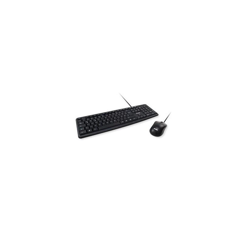 TECLADO Y RATON EQUIP CABLE USB