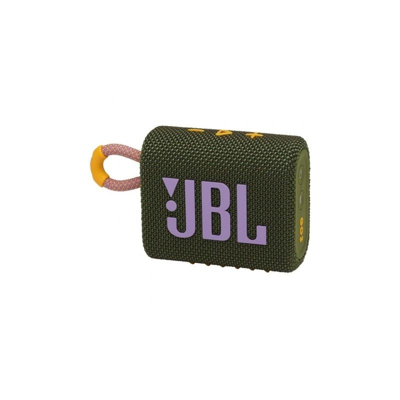 ALTAVOZ BLUETOOTH JBL GO 3 4,2W VERDE ROSA