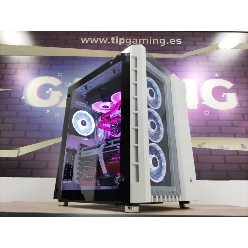TIPPC GAMING CUSTOM INTEL RTX 3060 CORSAIR 680X